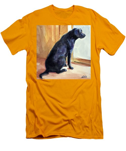 Morgan's View Men's T-Shirt (Slim Fit) by Molly Poole