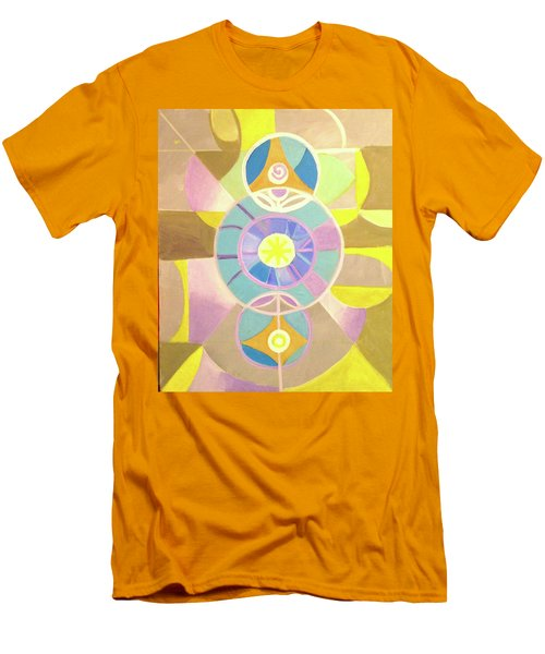 Morning Glory Geometrica Men's T-Shirt (Athletic Fit)
