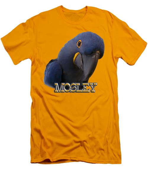 Mosley Men's T-Shirt (Slim Fit) by Zazu's House Parrot Sanctuary