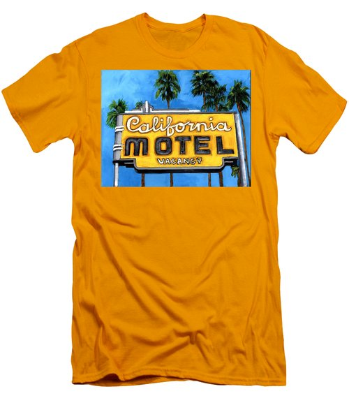 Motel California Men's T-Shirt (Athletic Fit)