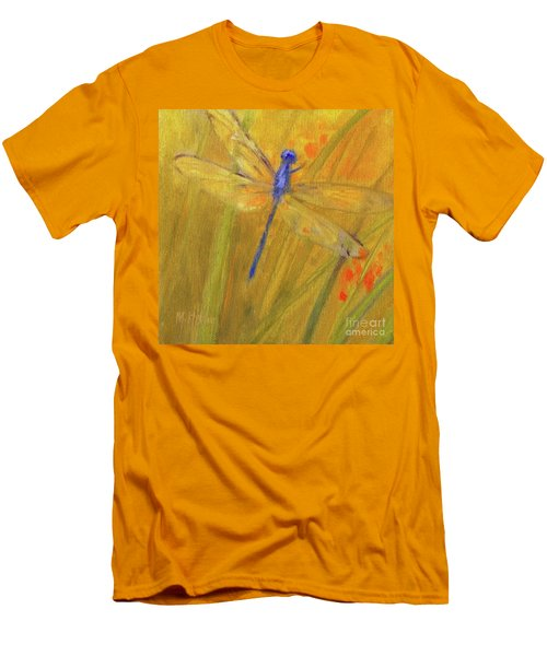 Mystic Dragonfly Men's T-Shirt (Slim Fit) by Mary Hubley