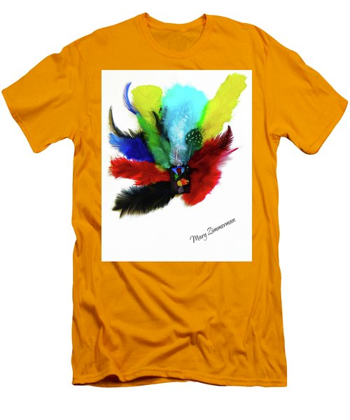 Native American Tribal Feathers Men's T-Shirt (Athletic Fit)