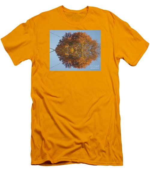Men's T-Shirt (Slim Fit) featuring the photograph Nature Unleashed by Christina Verdgeline