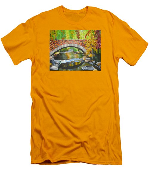Natures Eye Men's T-Shirt (Slim Fit) by Donna Blossom