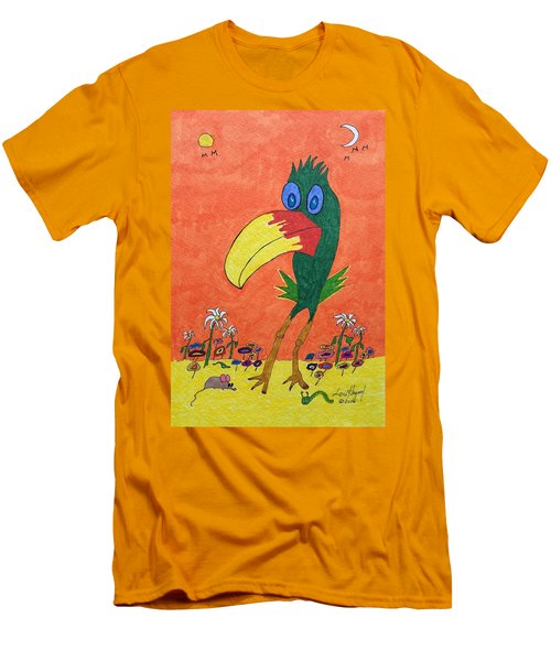 New Bird On The Block Men's T-Shirt (Athletic Fit)
