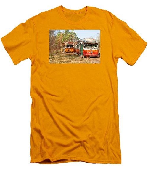 No Stops Men's T-Shirt (Slim Fit) by Michael Porchik