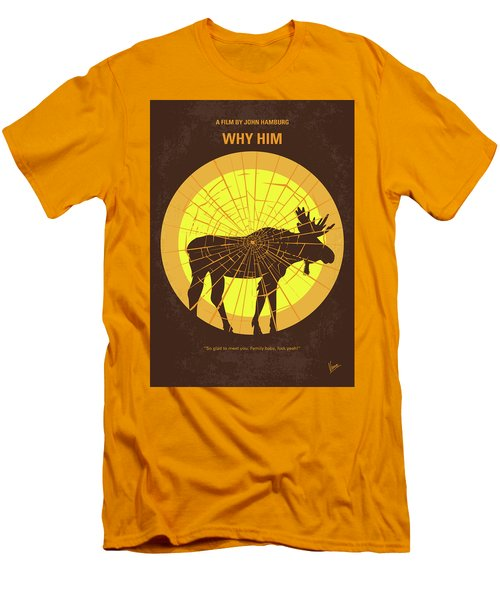 No859 My Why Him Minimal Movie Poster Men's T-Shirt (Athletic Fit)
