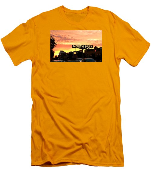 San Diego North Park Sun Men's T-Shirt (Slim Fit) by Christopher Woods