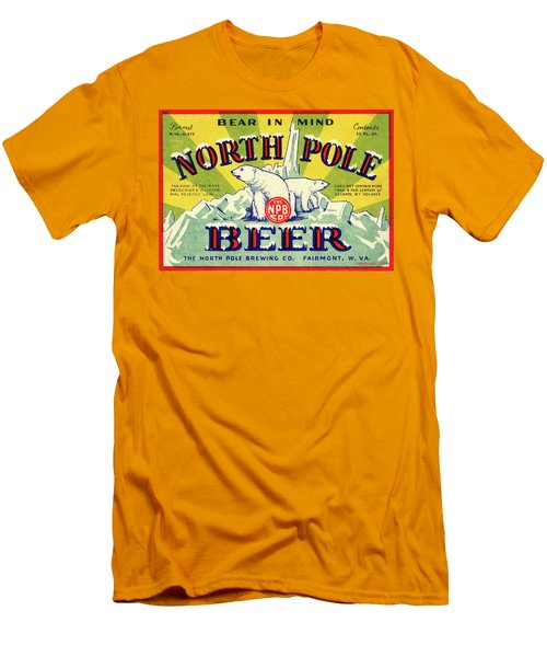 North Pole Beer Men's T-Shirt (Athletic Fit)