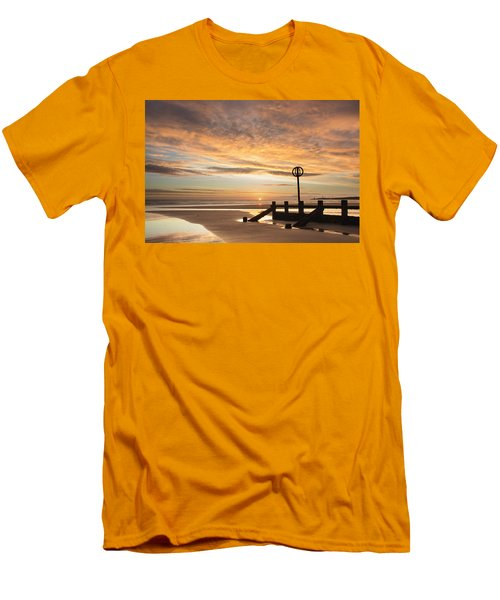 November Sunrise Men's T-Shirt (Athletic Fit)