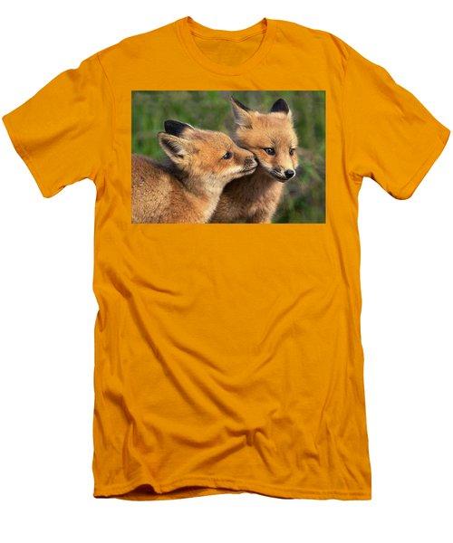 Nuzzle Men's T-Shirt (Athletic Fit)