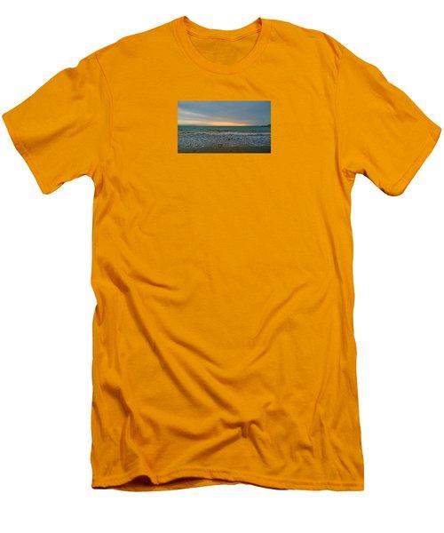 October Sunrise Men's T-Shirt (Slim Fit) by Anne Kotan