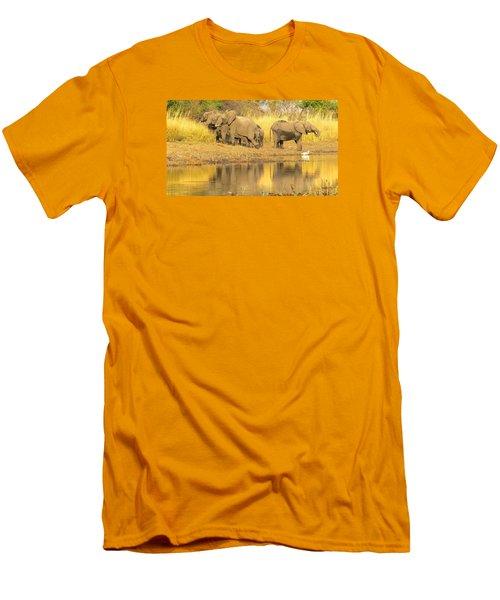 Okavango Scramble Men's T-Shirt (Athletic Fit)