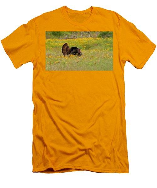 Oklahoma Wildlife Men's T-Shirt (Athletic Fit)