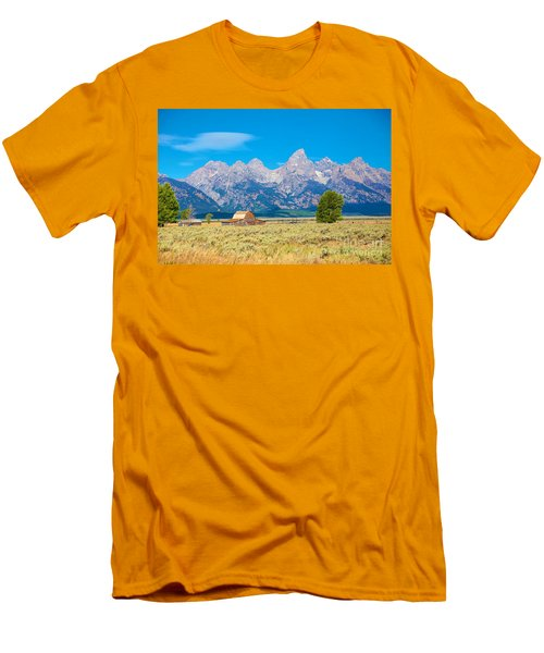 Men's T-Shirt (Slim Fit) featuring the photograph Old Time Community by Robert Pearson