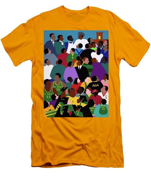 Onward And Upward Men's T-Shirt (Athletic Fit)