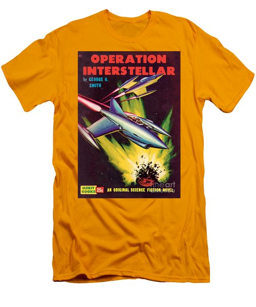 Operation Interstellar Men's T-Shirt (Athletic Fit)