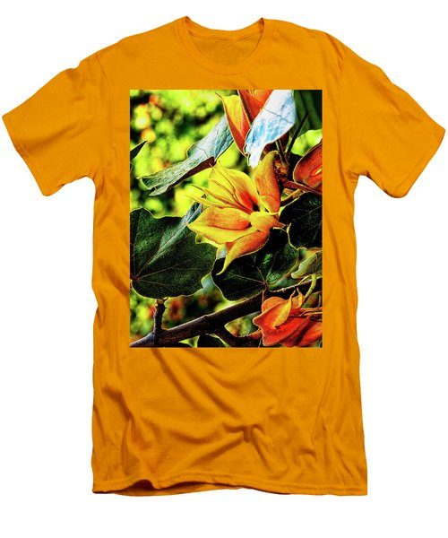 Orange Glory Men's T-Shirt (Athletic Fit)