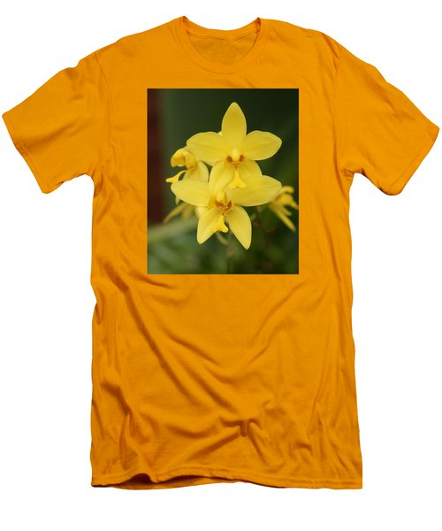 Orchid Men's T-Shirt (Slim Fit) by Christian Zesewitz
