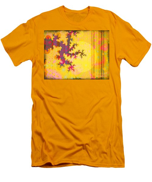Oriental Moon Behind My Courtain Men's T-Shirt (Athletic Fit)