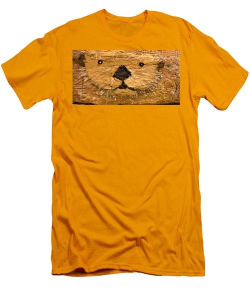 Otter Men's T-Shirt (Slim Fit) by Ann Michelle Swadener
