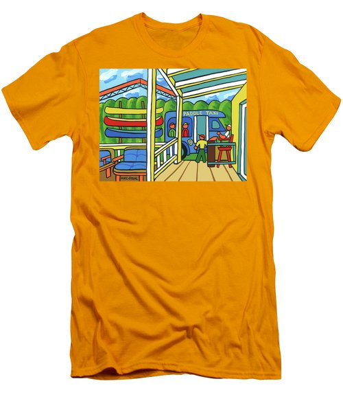 Paddle Taxi - Rum 138 Men's T-Shirt (Athletic Fit)