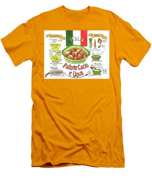 Pallotte Cacio Men's T-Shirt (Slim Fit)