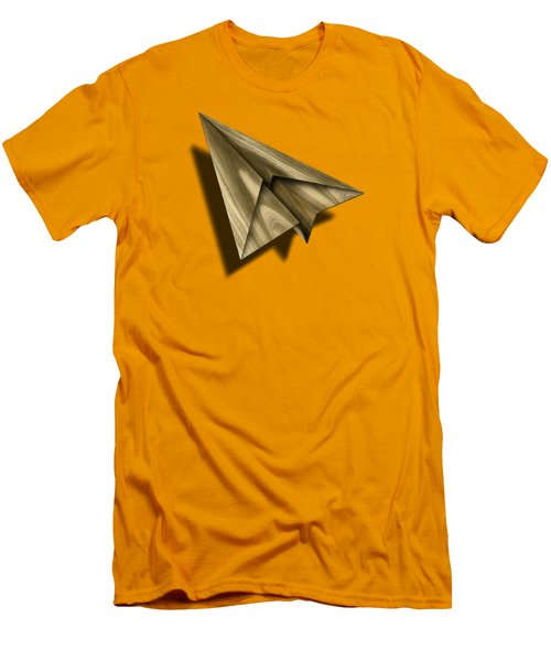Paper Airplanes Of Wood 18 Men's T-Shirt (Slim Fit) by YoPedro