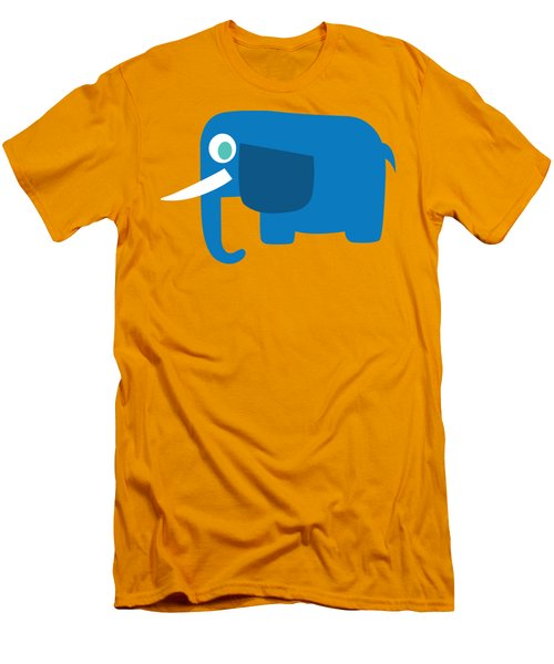 Pbs Kids Elephant Men's T-Shirt (Slim Fit) by Pbs Kids
