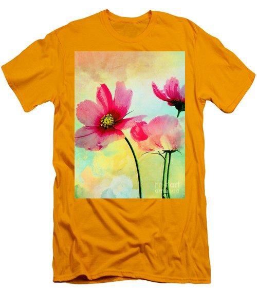 Men's T-Shirt (Slim Fit) featuring the digital art Peacefulness by Klara Acel