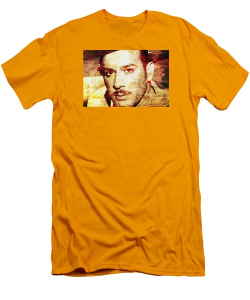 Pedro Infante Men's T-Shirt (Slim Fit) by J- J- Espinoza