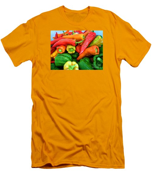 Pepper Medley 1 Men's T-Shirt (Athletic Fit)