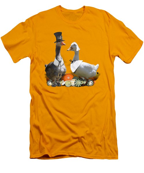 Pilgrim Ducks Men's T-Shirt (Athletic Fit)