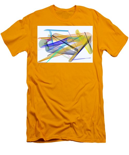 Men's T-Shirt (Athletic Fit) featuring the digital art Playground by Rafael Salazar
