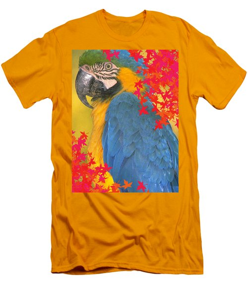 Polly Parrot Men's T-Shirt (Athletic Fit)