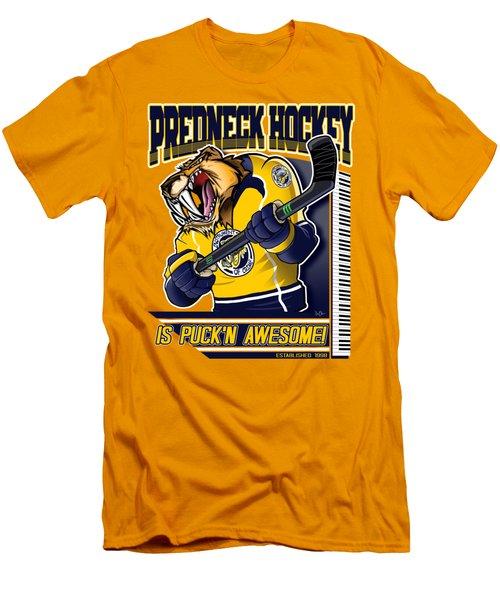 Predneck Hockey Men's T-Shirt (Athletic Fit)