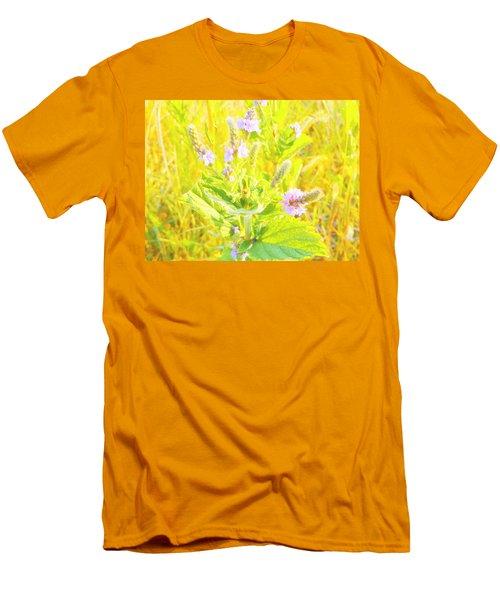 Pretty Lilac Men's T-Shirt (Athletic Fit)