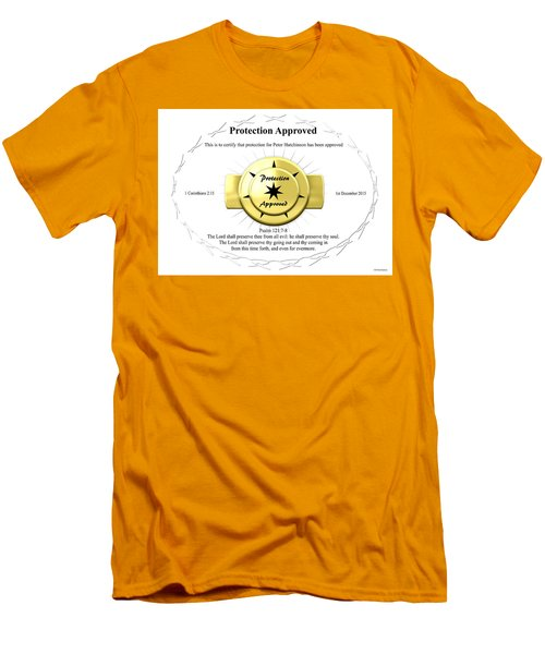 Protection Approved Men's T-Shirt (Athletic Fit)