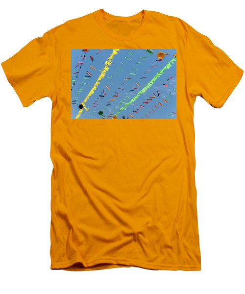 Put The Flags Out Men's T-Shirt (Athletic Fit)