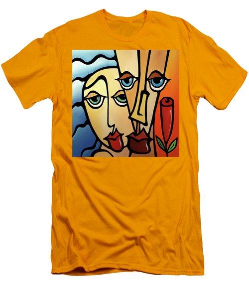 Quality Time Men's T-Shirt (Slim Fit) by Tom Fedro - Fidostudio
