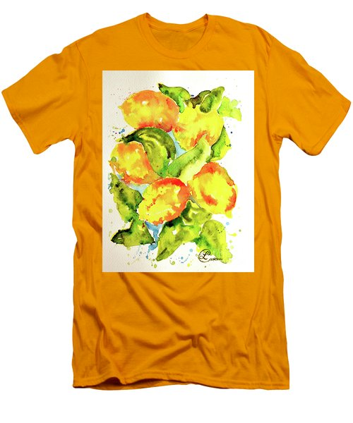 Rainwashed Lemons Men's T-Shirt (Athletic Fit)