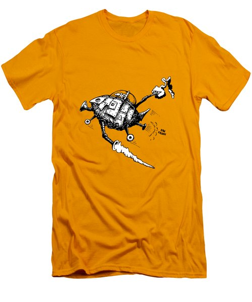 Rats In Space Men's T-Shirt (Athletic Fit)