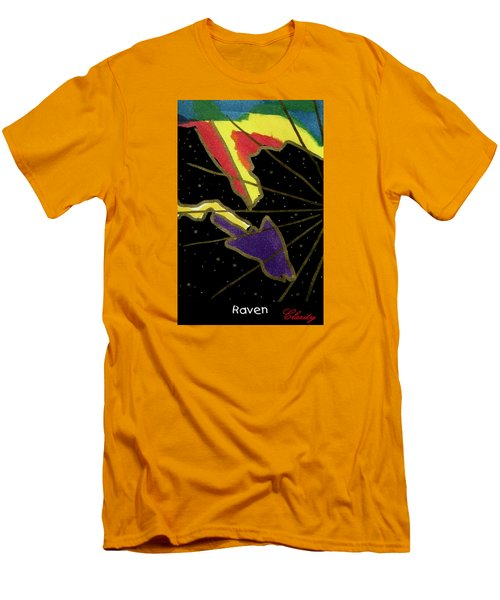 Raven Men's T-Shirt (Slim Fit) by Clarity Artists