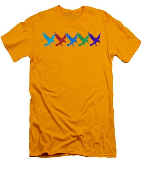 Ravens Apparel Design Men's T-Shirt (Slim Fit) by Teresa Ascone