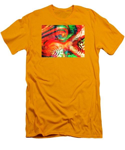 Men's T-Shirt (Slim Fit) featuring the digital art Rebel by Fania Simon