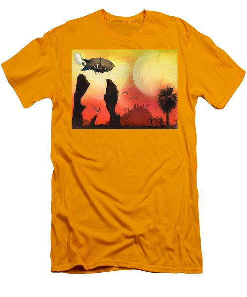 Red Planet Men's T-Shirt (Athletic Fit)