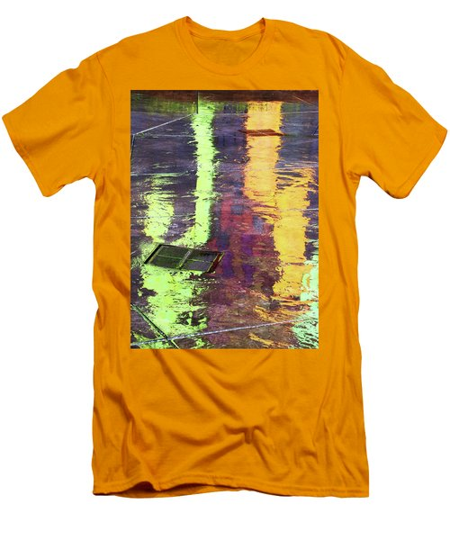 Reflecting Abstract Men's T-Shirt (Athletic Fit)