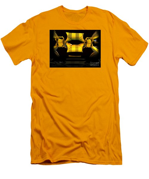 Men's T-Shirt (Slim Fit) featuring the digital art Reflections by Melissa Messick