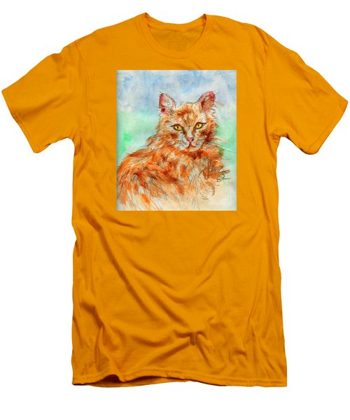 Remembering Butterscotch Men's T-Shirt (Slim Fit) by P J Lewis