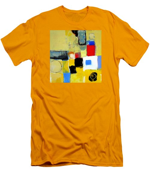 Men's T-Shirt (Slim Fit) featuring the painting Ron The Rep by Cliff Spohn